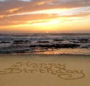 Happy Birthday Beachy Cake Donna