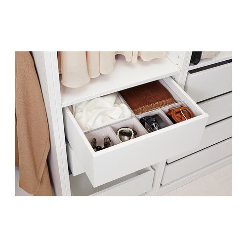 komplement drawer white sleeve the closet and closet. Black Bedroom Furniture Sets. Home Design Ideas
