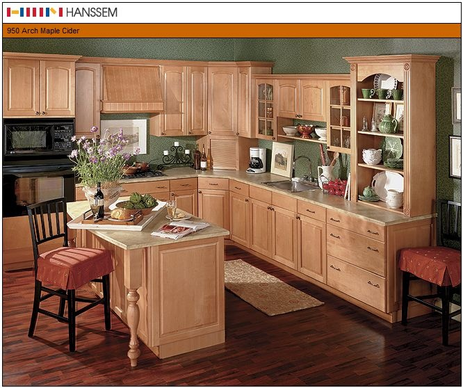 Country Kitchen With Maple Shaker Cabinets And Terra Cotta: 1000+ Images About Kitchen On Pinterest