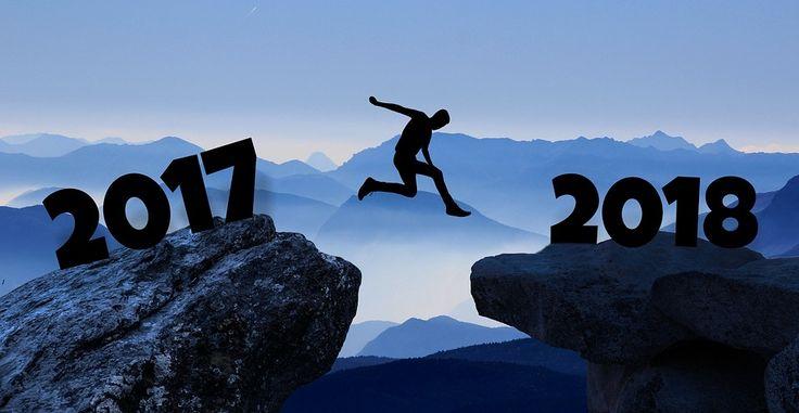 Godt nyttår folkens. 2018 skal bli et flott år!