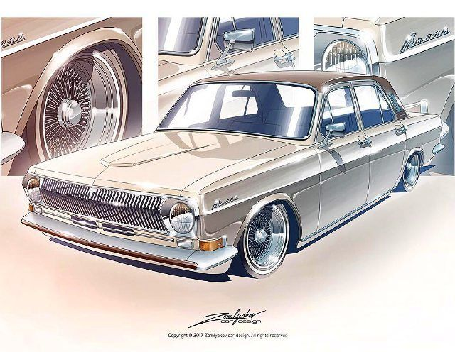 Custom GAZ 24 Volga #GAZ24 #Volga #газ24 #газ #24 #волга #волга24 #Volga24