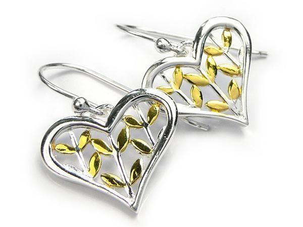 Silver Earrings - Seeds of Love