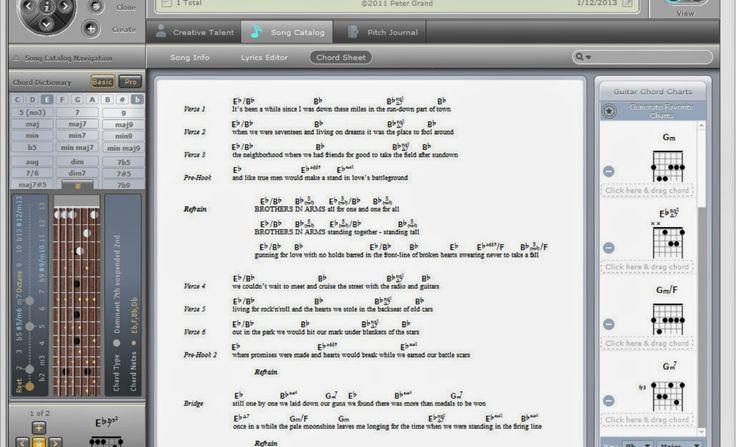 Si estás buscando un editor musical para organizar tus canciones, escribir tus letras y separarlas por versos y por estrofas, añadir acor...