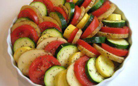 Tian de vegetales al horno - IMujer