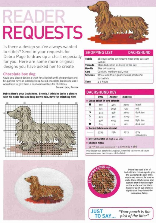 79 best Cross Stitch Dogs images on Pinterest | Hunde, Kreuzstich ...