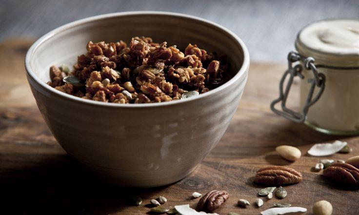 Domácí ořechové müsli | KITCHENETTE