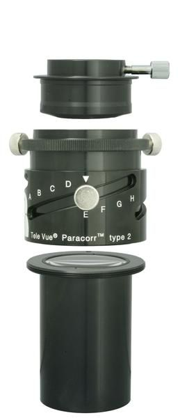 Paracorr is a universal corrector that tightens and intensifies star images on all f-ratios down to f/3! Tele Vue offers the largest, flattest and best corrected visual fields in the industry.