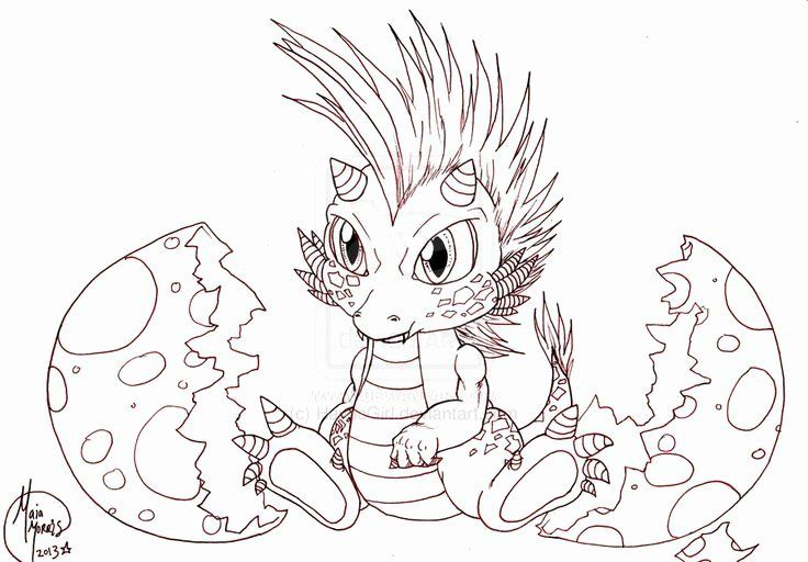 Baby Dragon Coloring Page Lovely Cute Baby Female Dragons Dragon Coloring Page Baby Dragons Drawing Cute Dragon Drawing