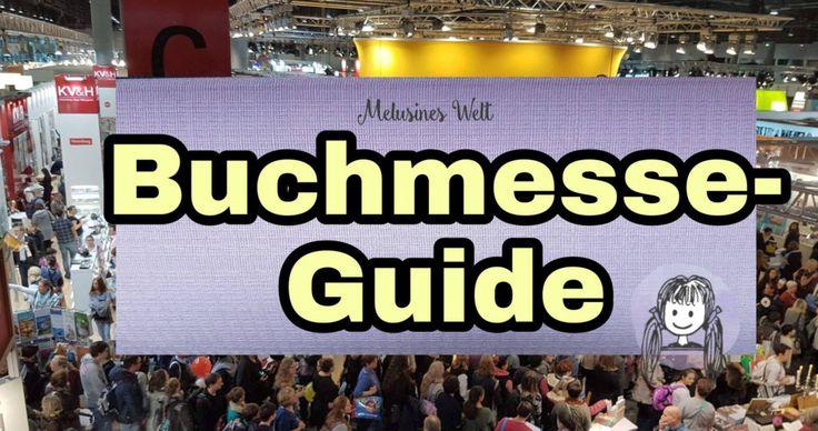 Neu! Buchmesse-Guide oder Guide zur Buchmesse. Schaut doch mal rein, gern nehme ich Gastbeiträge an! www.melusineswelt.de