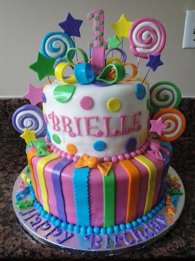 candyland cake   Candyland Cake   Cakes by Nathalie