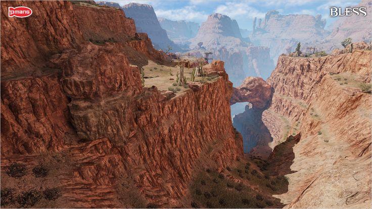 [네오위즈게임즈] 이미지- 대작 MMORPG '블레스' 북부지역 스크린샷_4(와이번 계곡).jpg