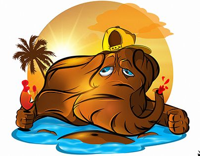 """Check out new work on my @Behance portfolio: """"Melted down, the heat , July !"""" http://be.net/gallery/40486101/Melted-down-the-heat-July-"""