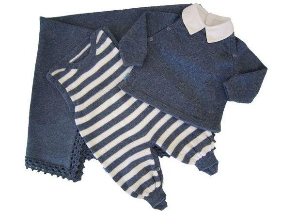 Conjunto Maternidade Azul Menino *RN