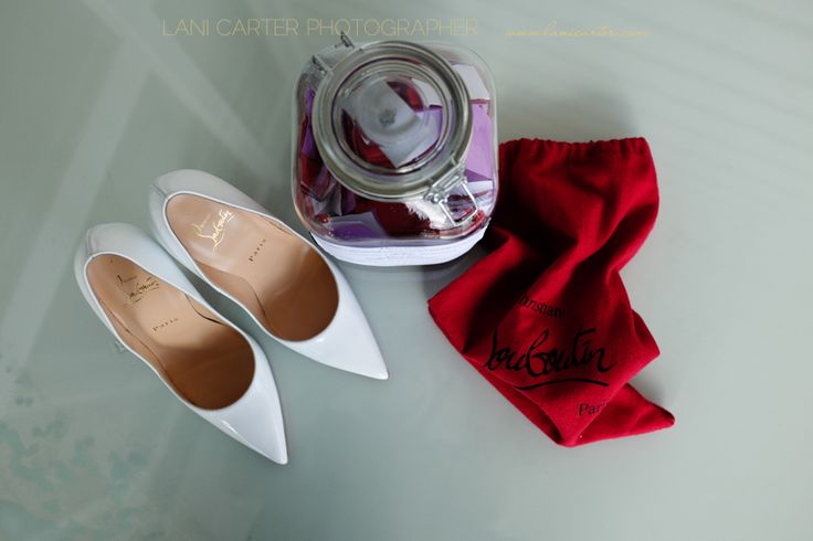 Brides shoes, christian louboutin. www.lanicarter.com