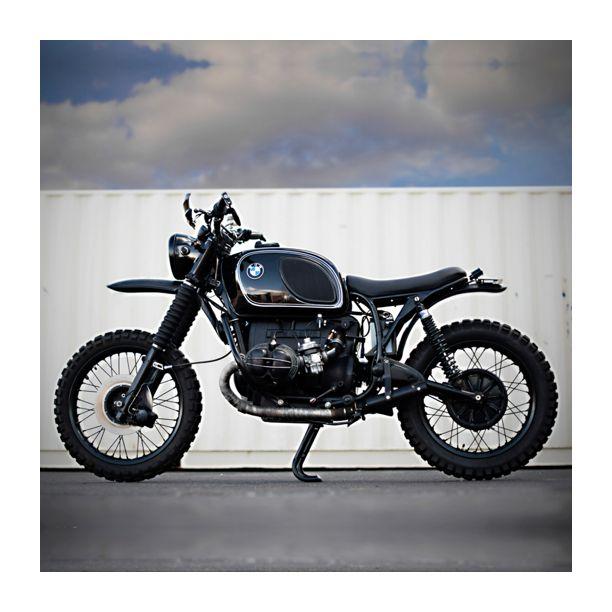 That BMW R90 | Build by Northeast Sportscar |  #bmw #scrambler #motorcycle