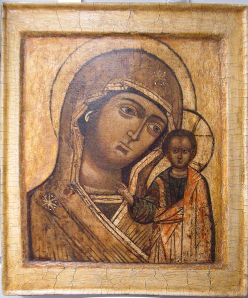 Icon of the Virgin of Kazan 19th century