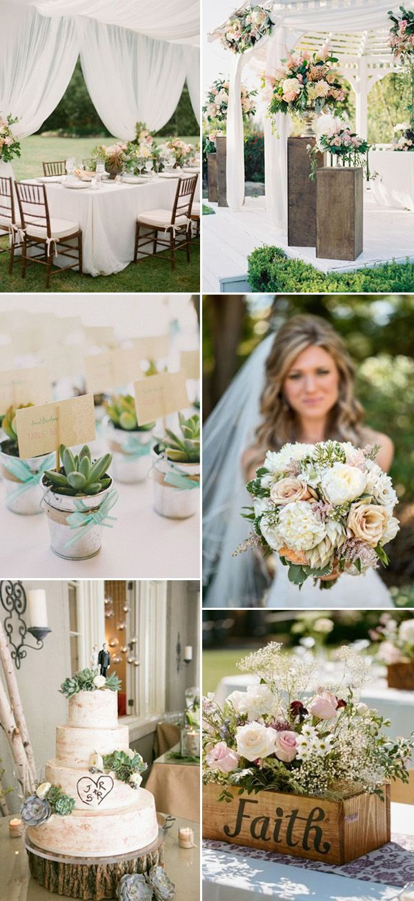 outdoor flowers rustic wedding ideas with elegance