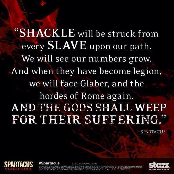 Image result for spartacus quotes