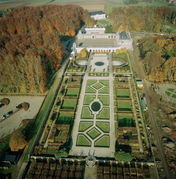 Les Parcs et Jardins Exceptionnels de Wallonie : des lieux à découvrir - Parc et Jardins du Château de Seneffe
