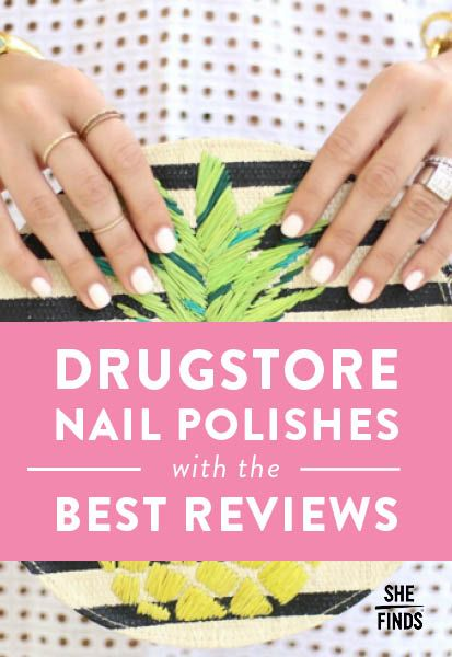 Drugstore Nail Polishes With The Best Reviews