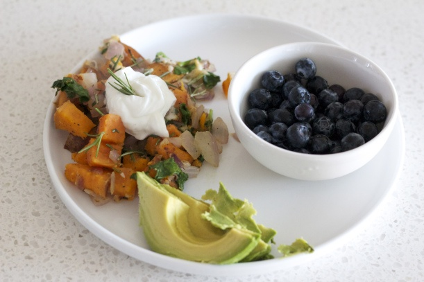 sweet potato and rosemary breakfast hash | Breakfast or Brunch | Pint ...
