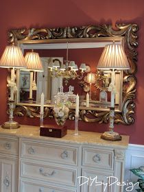 DIY by Design: Mirror Mirror {Finally} on the Wall