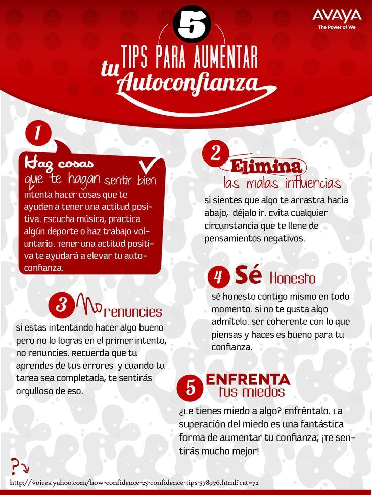 5 Tips para aumentar la autoconfianza #frases