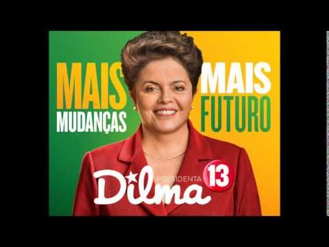 "Jingle ""Coração Valente"" Dilma 13 (PT) Brasil 2014jair"