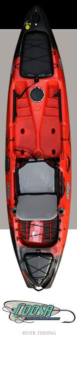 I also paddle this Jackson Kayak boat called the Coosa.  Great river boat.