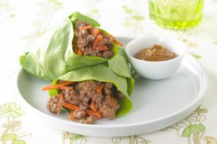 """""""Spring Rolls"""" in Asian Beef"""