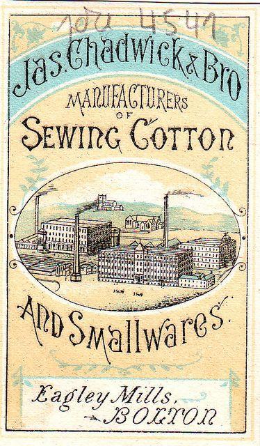 chadwick eagley mills bolton advert back | Flickr: partage de photos!
