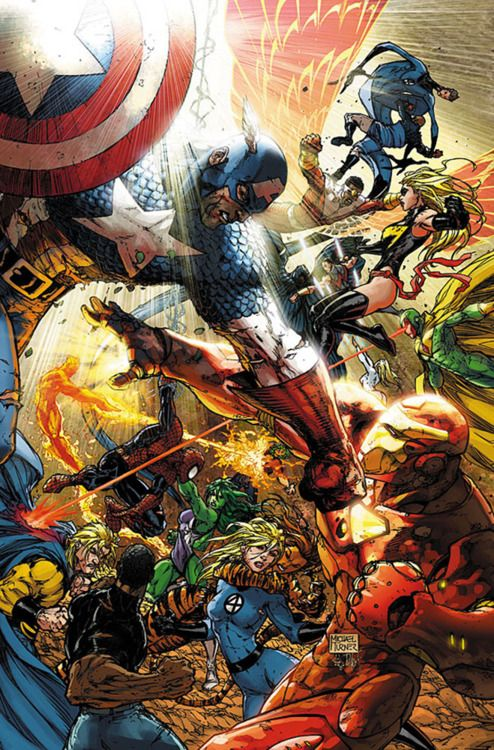 Marvel's Civil War by Michael Turner  Auction your comics on http://www.comicbazaar.co.uk