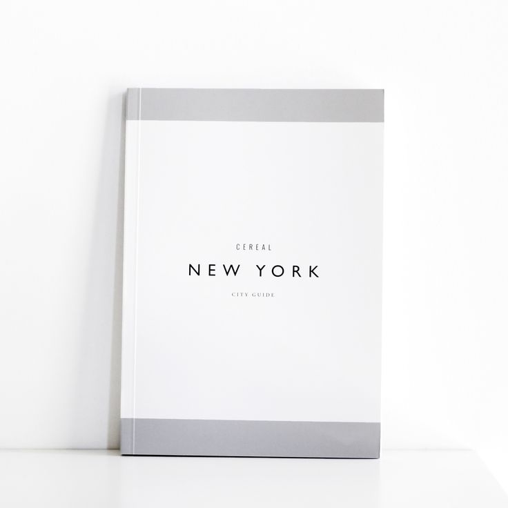 "The team behind Cereal Magazine brings you a beautifully bound travel guide of favorite places to visit in New York. - Measures 8 1/4"" x 5 3/4"" inches - Questions? Email hi@moderncitizen.com - The Cer"
