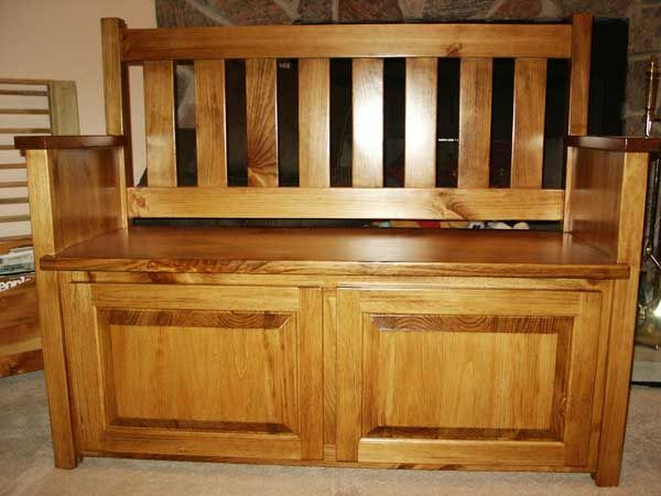 Mission Bench Deacons Bench Woodworking Bench Plans Bench
