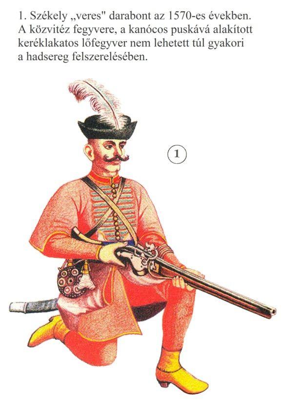 Szekler infantry, 1570