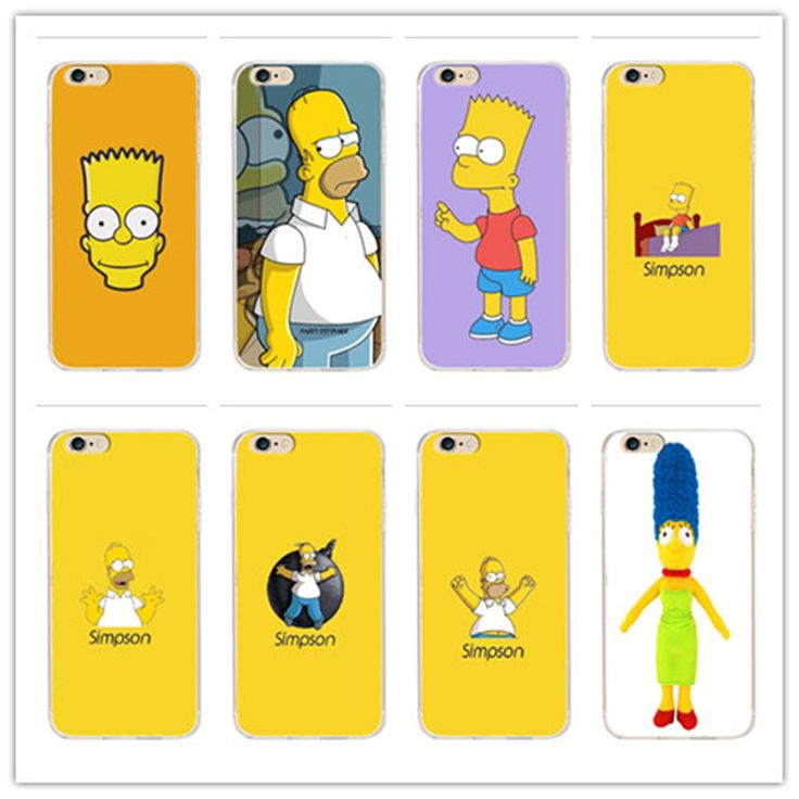For animation Simpson Cover Case for Samsung Galaxy S4, S5 S6 S7 2016 Coque Edge for iPhone 4 4 s 7 5 s 5 c SE 6 6 s Plus //Price: $3.93 & FREE Shipping //     #hashtag4