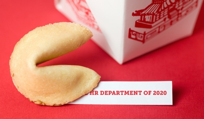 The HR Department of 2020: 3 Bold Predictions