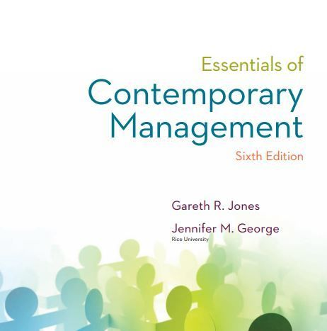 contemporary management 10th edition mcgraw hill
