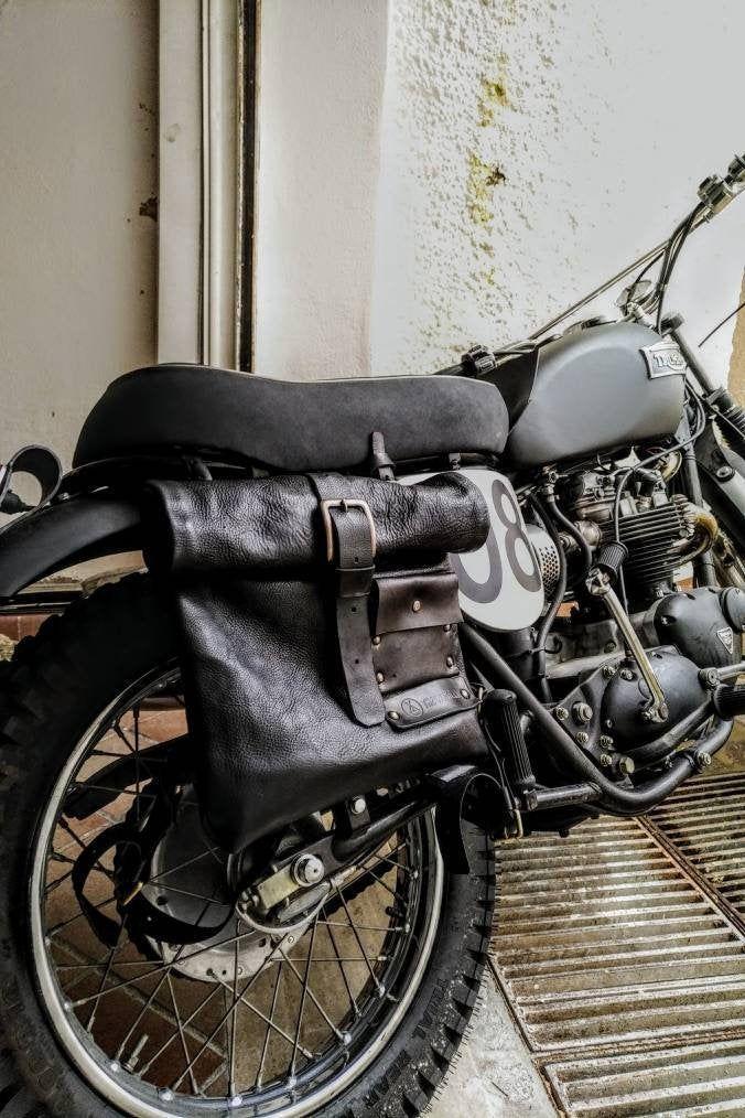 Pantaloni da Moto in Vera Pelle FNine Stile Moto