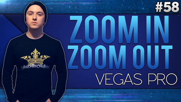 Sony Vegas Pro 13: How To Zoom In And Out Slowly - Tutorial #58