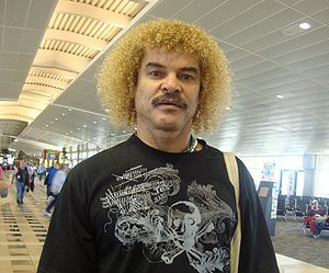 """n 2004, Valderrama was included in the FIFA 100, a list of """"greatest living footballers"""" chosen by Pelé to celebrate the 100th anniversary of FIFA."""