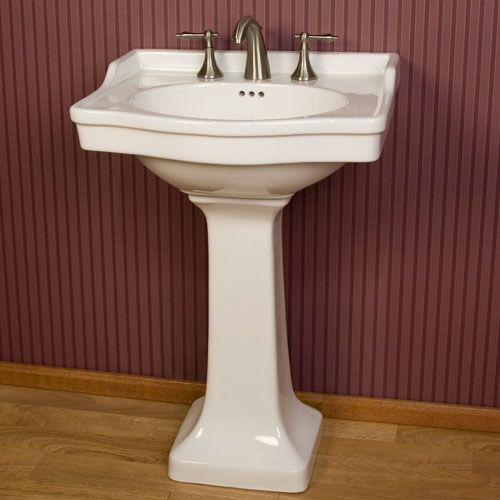 Cierra Porcelain Pedestal Sink For D Pedestal And Half