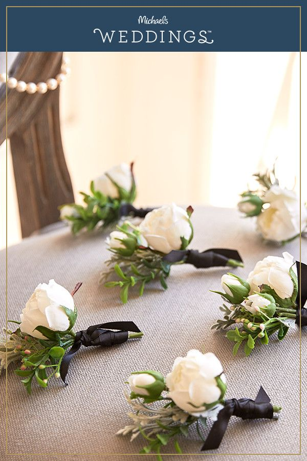 Make this traditional floral boutonnires project it
