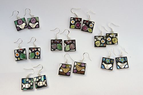 selection of earrings | Now available at Ferrers Gallery, Le… | Flickr