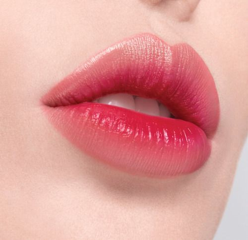 Korean lip makeup I'm obsessed with gradient, stained, or popsicle stained lip looks right now. Givin' me life!