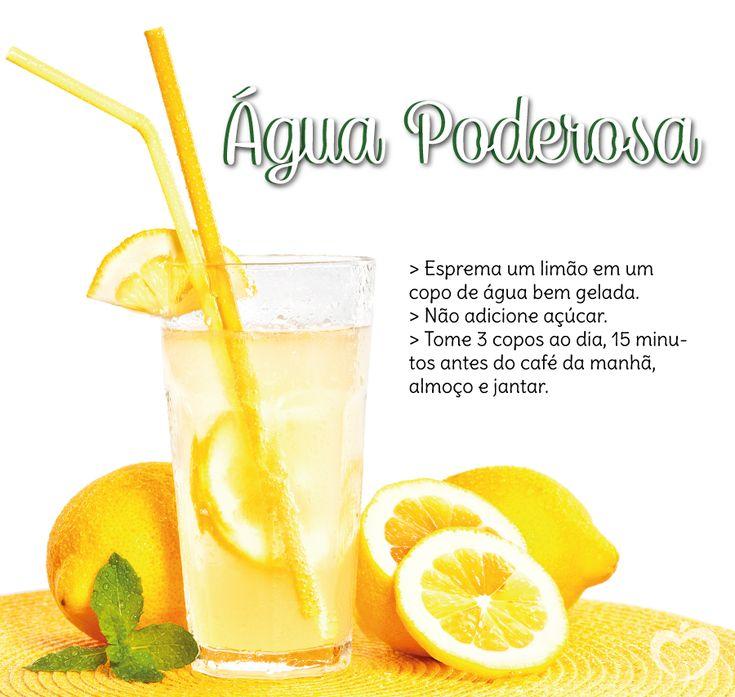 Vocês já ouviram falar nos benefícios da água com limão? Além de deliciosa, refrescante e hidratante, ela ajuda no processo de emagrecimento. O limão desintoxica, tem ação diurética, facilita a dig…