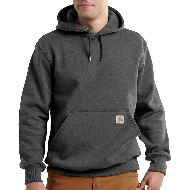 Carhartt Men's Rain Defender Paxton Heavyweight Hooded Sweatshirt - at Moosejaw.com