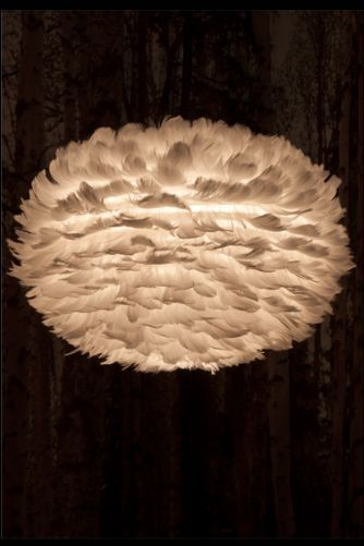 Eos Feather Lampshade