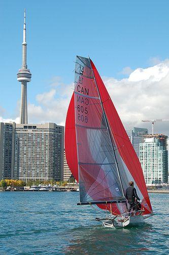 Sailing in Toronto ( Lake Ontario)