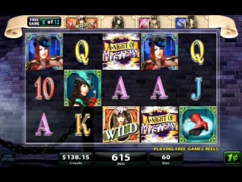 A Night of Mystery - Slot Game by H5G